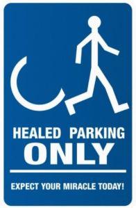healed parking